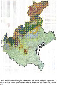 Cartina Comuni Veneto.Veneto Gas Radon